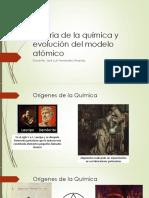 Historia y Evolucion del modelo atomico