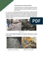 Depositos Epitermales en California Colombia