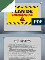 Diapositivas de Plan de Emergencias