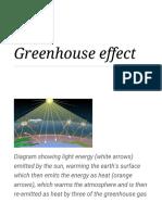Greenhouse Effect - Wikipedia