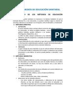 Modulo 2. Tema 7 Metodos y Medios de Educacion