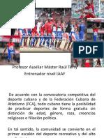 Formación Básica en El Atletismo Para Niños De
