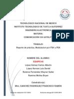 Reporte 1. Comunicacion Satelital