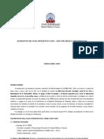 Elementos Del Plan Estratégico 2020-2022