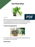 9 Great Indoor Plant Ideas | J Birdny