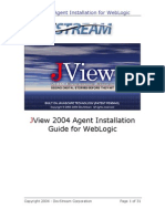 JView 2004 Agent Installation Guide for WebLogic