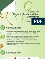 2019 Ch104 Organic Acids