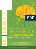 International Conference on Neuro Science & Brain Disorders (NBD 2020)