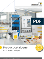 Product Catalogue 2017 Food and Feed Analysis En