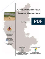 City Sanitation Plan Tumkur