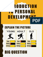 Introduction to Personal Dev.