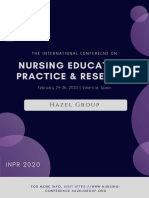 International Conference on Nursing Education