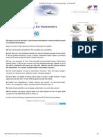 7 Redação de Sucesso - Os Dez Mandamentos - Só Português