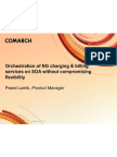 Orchestration of NG Charging and Billing Services on SOA Without Compromising Flexibility