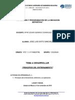 Principios Del Entrenamiento Jose Sixto