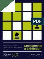 Catalysis Conference 2020 Sponsorship