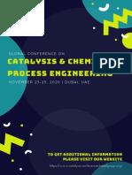 Catalysis Conference Tentative Program