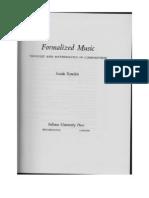 Xenakis Formalized Music