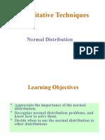 QT1 Normal Distribution