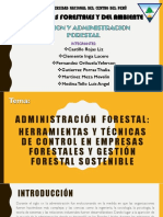 Administracion y Gestion Forestal