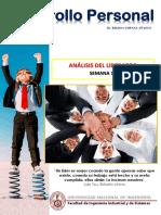 EL liderazgo - desarrollo personal
