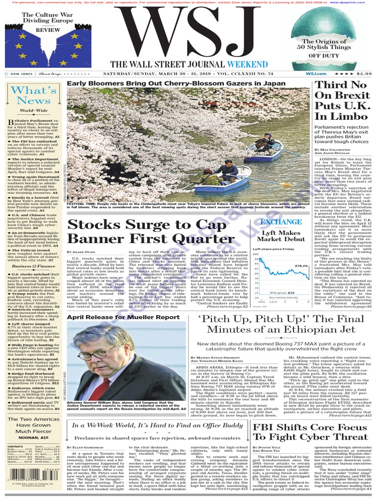 Gg The Wall Street Journal Brexit