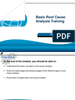 IQA Root Cause Analysis