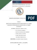 Informe Medio Ambiente Grupo 3