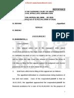 SC Order IX Rule 13 CPC Section 962 CPC N Mohan v R Madhu