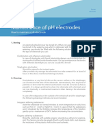 Maintenance of Electrodes  English