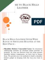 Western Holster Rigs , Dual Shoulder Holster - Blackhillsleather.com