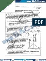 Serie N°1 Avec Correction - Physique - Oscillations Mécaniques Forcées - Mr Zribi - sfax