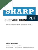 Surface Grinder Manual