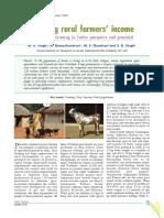 Dobling Rural Farmers Income