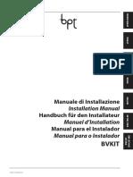 Bvkit Manuale Installazione_24801011 23-09-10
