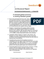 Economic and Structural Report August 2008, extract from