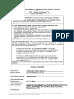Generic IEE Checklist