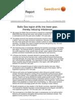 Baltic Sea Report September 2008