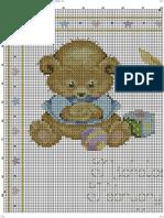 Baby Bears Birth Sampler DMC