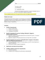 MSc Pharmacy Appendix