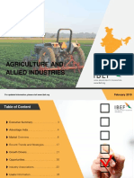 Agriculture and Allied Industries Feb 2019