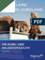 Helgoland Urlaubsmagazin 2020