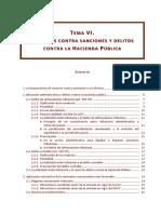 Tema VI Recursos Contra Sanciones y Delitos