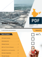 Manufacturing Industry Report Feb 2019