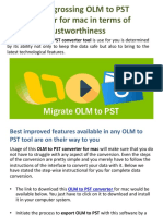 Highest Grossing OLM to PST Converter for Mac