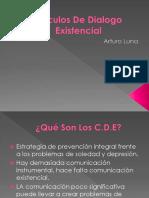 Círculos de Dialogo Existencial Exposicion