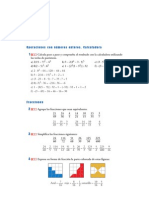 Matematicas Resueltos (Soluciones) Operaciones con Números Enteros 3º ESO 2ª Parte
