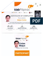MELJUN CORTES 2018 AMAZON Cloud Computing Certificate