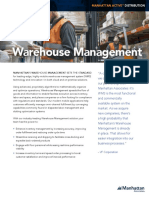 Manh Warehouse Management Brochure En