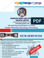 Namoads and Events Proposal 2019